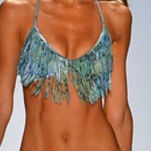 l*space Swim - L*Space Audrey Fringe Print Top Only